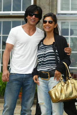 SRK with Gauri