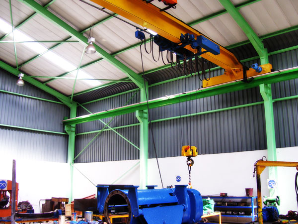 CRANE OVERHEAD SINGLE GIRDER
