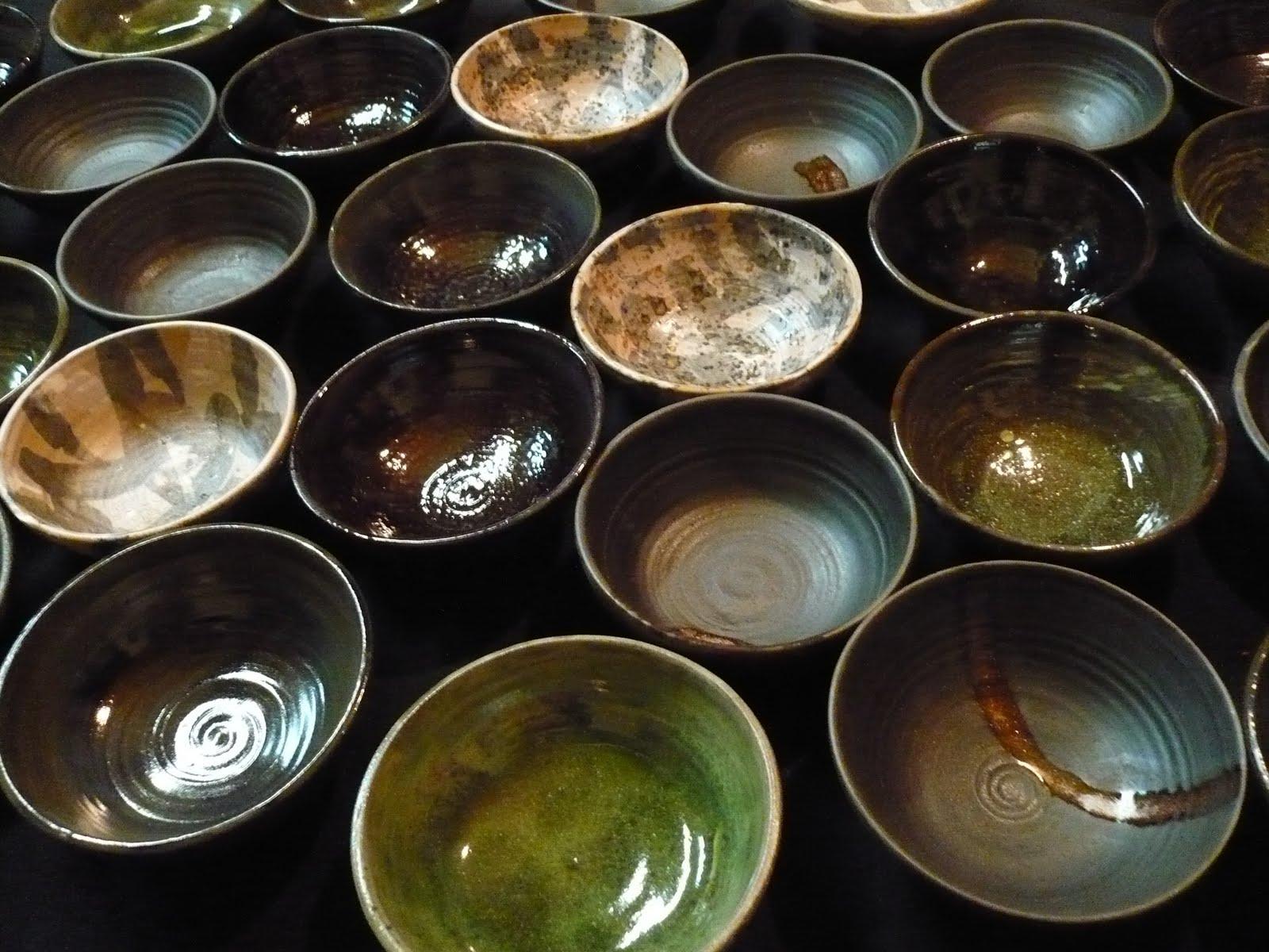 chisato ceramica encargo de vajillas para el restaurante koan