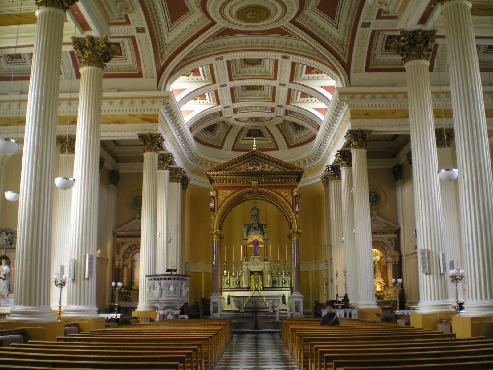 The catholic heritage association of ireland and symbols glorious the crisp ionic portico stands in contrast to the high gothic flourish of the capuchin holy trinity church on the south channel of the lee biocorpaavc