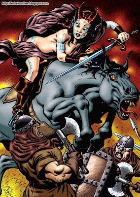 demone a cavallo