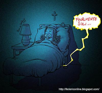 sotto il letto