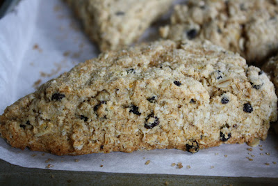 FlavorSings: Orange and Oat Scones