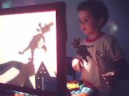 Meu Filho João Gabriel em Oficina junto com sua sala do maternal no Colégio Sion Arujá.