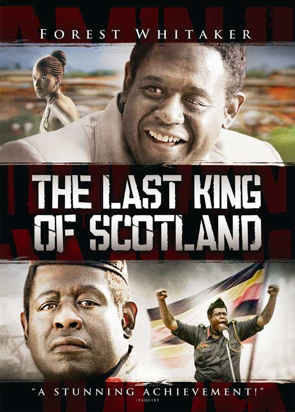 The Last King of Scotland DVD Starring Forest Whitaker and James McAvoy