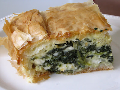 The Hungry Masses: Sunday Spanakopita and Phyllo School