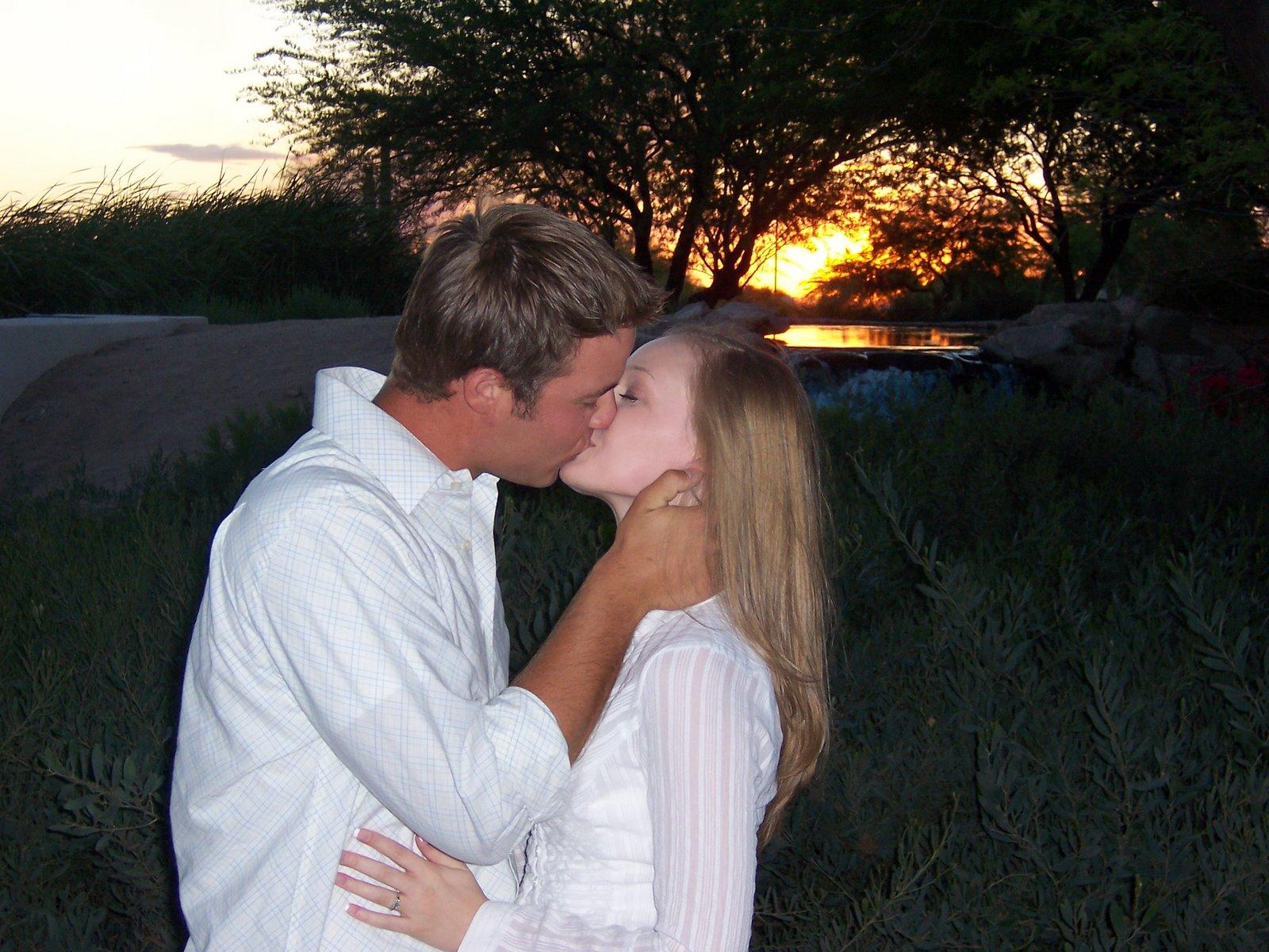 Awww kisses