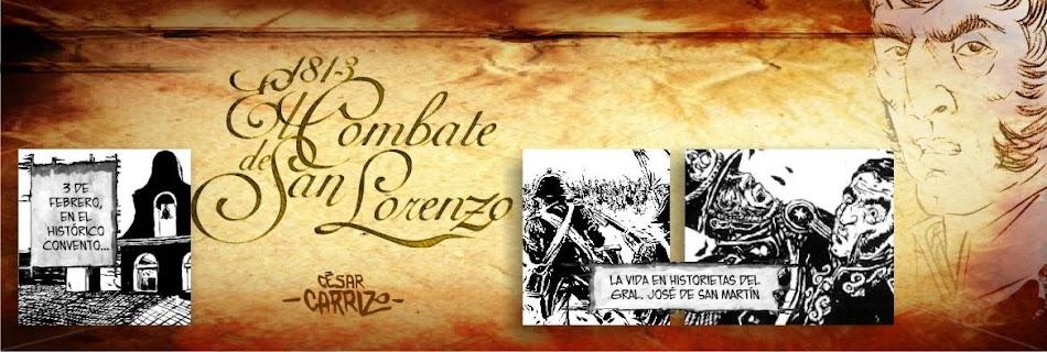 1813 - El Combate de San Lorenzo
