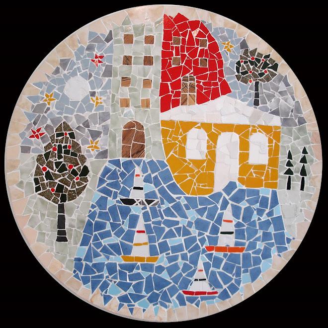 Mosaico - sem título (diâmetro=80cm)