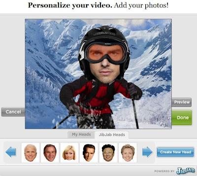 Screenshot Sendables JibJab