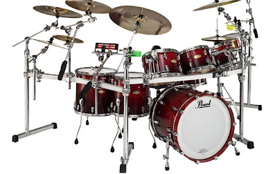 Pearl Drum Set - Masterworks Series Drum Set