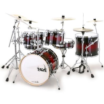 Taye Drum Set - Taye Original Drum Set