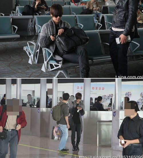 K World Addicted Kim Hyun Joong Rock Style At Airports