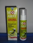 New Launch- MOZ AWAY Long Hour Protection with Kiwi fragrance