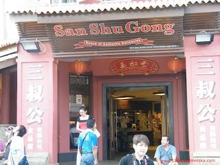 San Shu Gong Kedai Makanan Tempatan