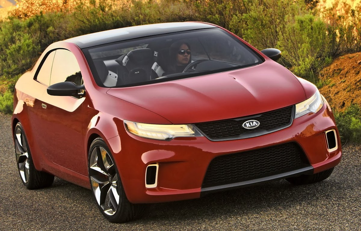 Kia Koup Concept with 290Hp 20 Turbo Debuts in New York Previews