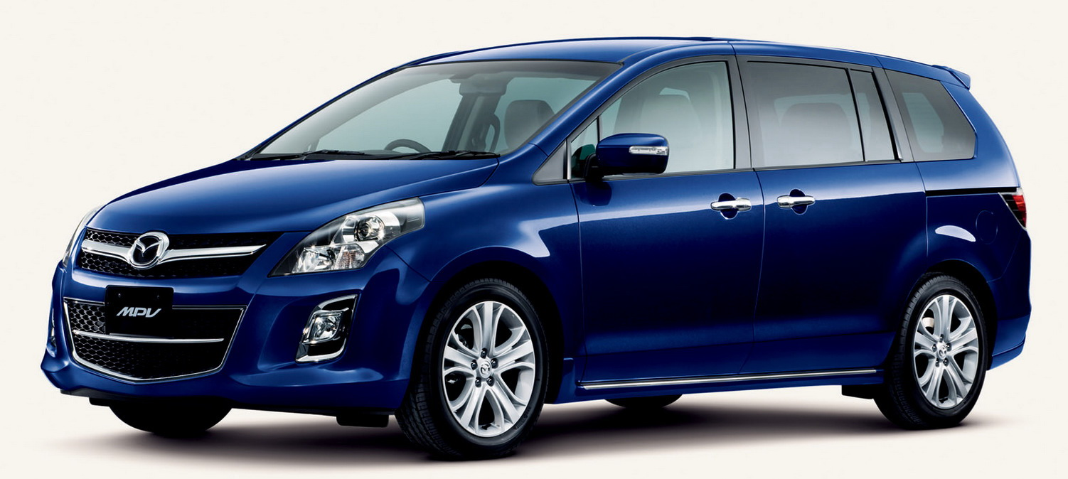 MMPV 7 Mazda Launches Facelifted MPV In Japan