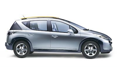 Carscoop peugeot 207SWoutdoor 4 Geneva Preview: Peugeot 207 SW Outdoor Concept