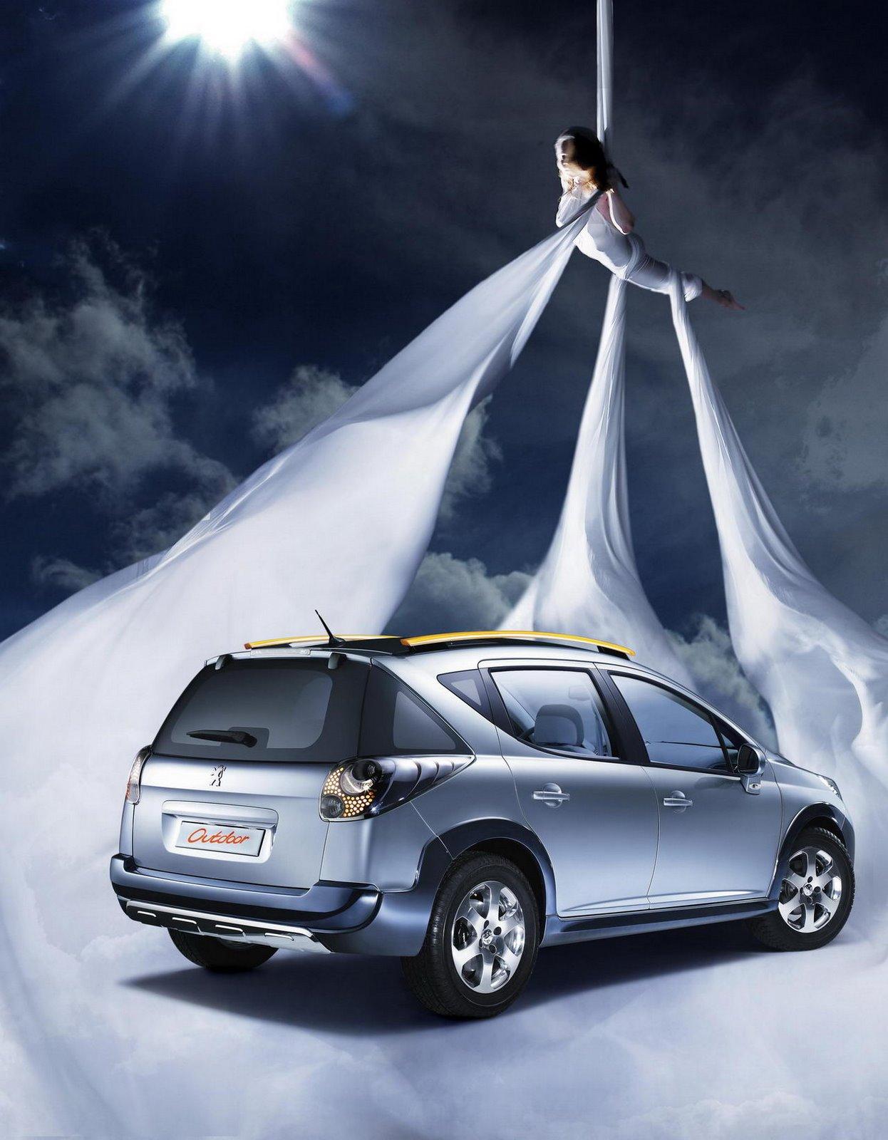Carscoop 207SWOUTDOOR 10 Geneva Preview: Peugeot 207 SW Outdoor Concept