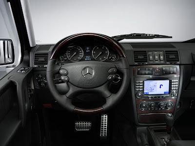 Carscoop MB G 2 2008 Mercedes Benz G Class facelift