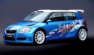Carscoop S2000Fabia 1 Skoda Fabia S2000