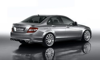 Carscoop carlssonCK35 3 Carlsson CK35 295Hp version based on the 2008 Mercedes C Class