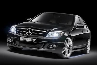 Carscoop Brabus C 20 Brabus tunes 2008 Mercedes C Class