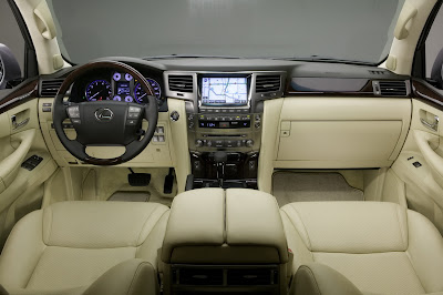 Carscoop 08 LX 570 14 NY Preview: Lexus LX 570