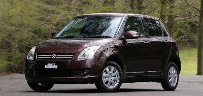 Carscoop Suzuki08 1 Suzuki Swift: Minor Upgrades