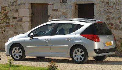 Carscoop Peugeot207SW1 Peugeot 207 SW: Leak, La Partie II...