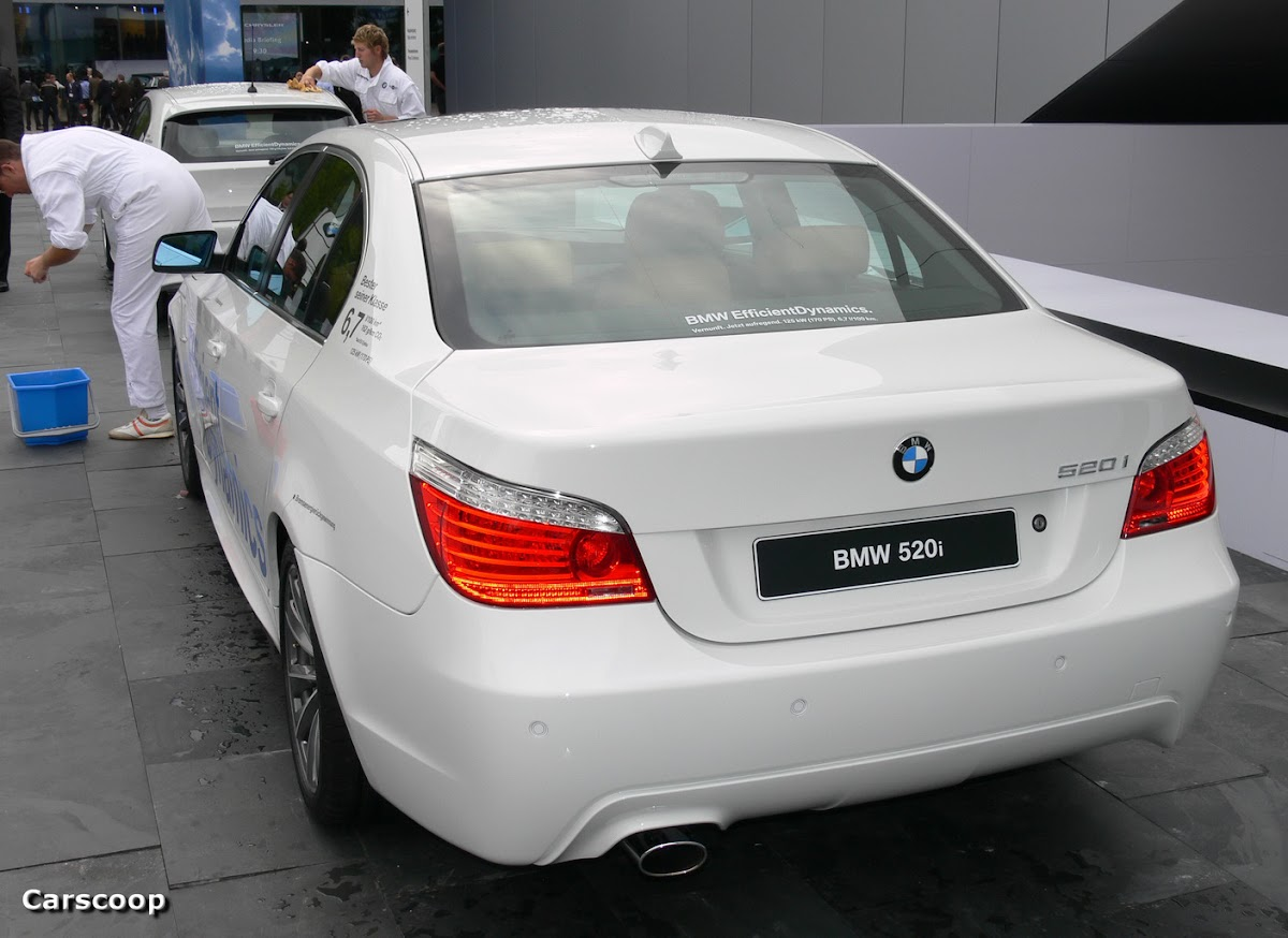 Frankfurt 2008 BMW 520i