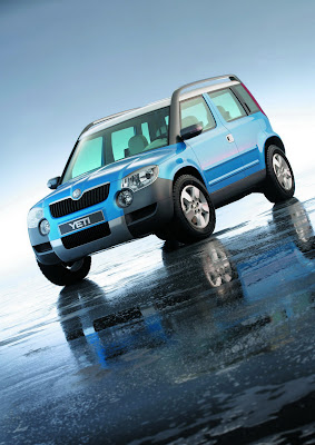 Carscoop SkodaYetiC 1 resize Skoda Confirms Yeti SUV Production Starts In 2009