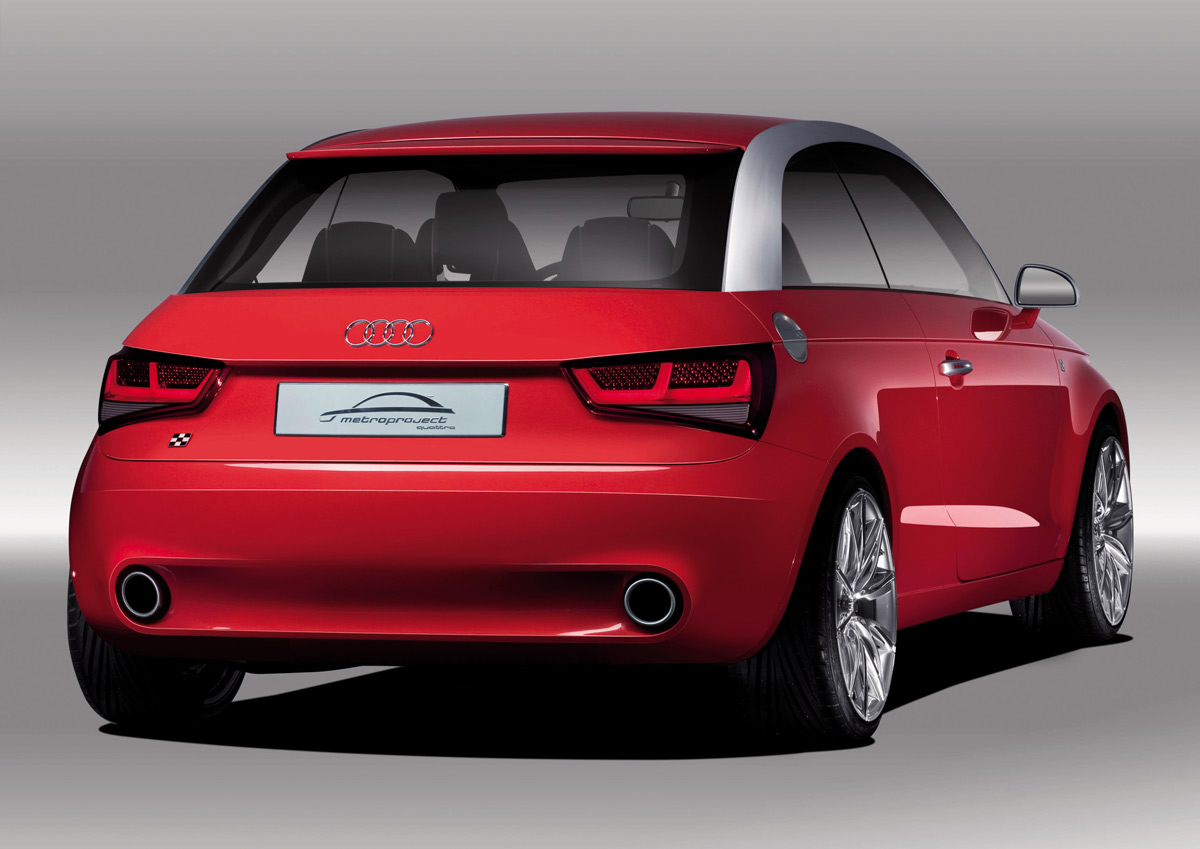 Worksheet. Audi A1 Metroproject Quattro 2007 Tokyo Show Concept Leaked