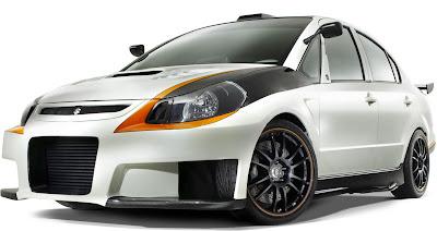 carscoop semaSX4 00000 SEMA : Suzuki SXForce Sportbike Inspired Concept