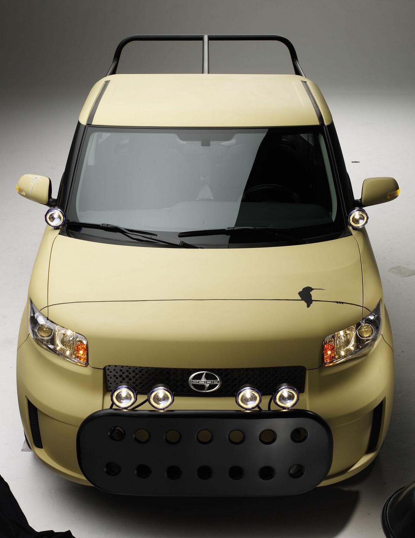 Car Reviews Sema Scion Xb L Con City Safari Pick Up