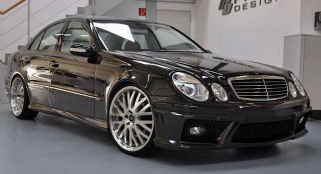 Prior Design E Class 01 Prior Design Fattens up the Mercedes Benz E Class W211