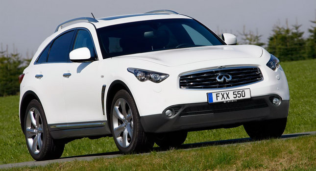 Infiniti FX30d 0 Infiniti Confirms UK Pricing for its First Diesel Model, the FX30d Photos