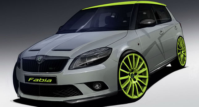 Skoda RS 0 Skoda to Bring Special Fabia RS+ and Octavia RS+ at Wörthersee Meeting