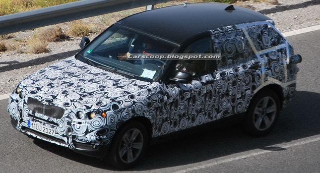2011 BMW X3 001 Camouflaged BMW X3 Prototype Sparks Bomb Scare at NY Museum