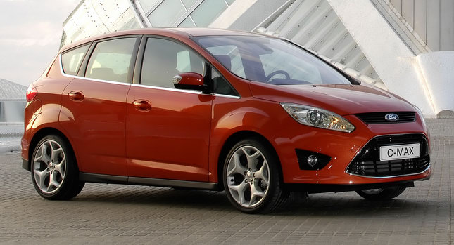 Ford C MAX Valencia 0 Ford to Launch C MAX Full Hybrid and Plug in Electric in Europe in 2013