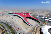 Ferrari World Abu Dhabi 3 Ferrari World Abu Dhabi Opens in October Formula Rossa Rollercoaster Unveiled Videos