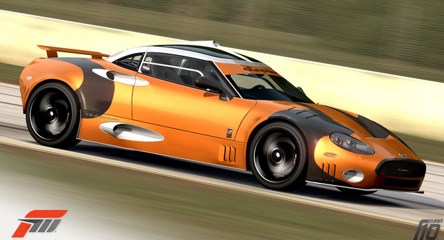 Spyker Forza 3 0 Spyker C8 Laviolette LM85 Available on Forza Motorsport 3 / Xbox 360 Photos