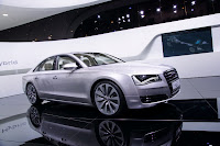 Geneva Show: New Audi A8 Hybrid with 2.0 Liter 4 Cylinder Engine Photos