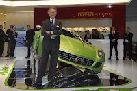 Ferrair 599 GTB Fiorano Hybrid Study 17 Ferrari Goes from Red to Green Plans to Offer Hybrid Option on all Models Photos
