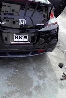 HKS Honda CR Z 9 HKS Takes on Hondas CR Z Coupe photos, pictures