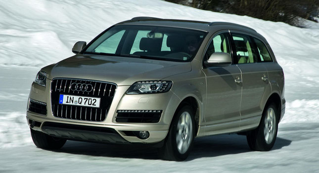 2011 Audi Q7 SUV 0001 2011 Audi Q7 SUV Gains New V6 Engines Including 333HP Supercharged TFSI and 8 Speed Autos Photos