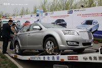 Huatai B21 1 Bentley Snout Part II: Huatais New B11 and B21 Sedan Snapped Ahead of Beijing Show