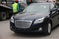 Huatai B11 115 Bentley Snout Part II: Huatais New B11 and B21 Sedan Snapped Ahead of Beijing Show