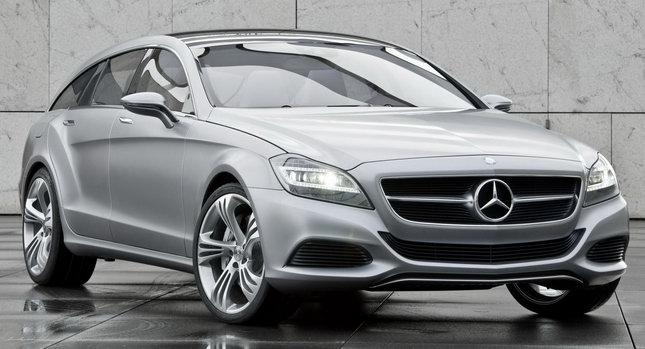 Mercedes Benz CLS Shooting Break 01 Mercedes CLS Shooting Brake Concept: A New Dream Car