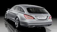 Mercedes Benz CLS Shooting Break 002 Mercedes CLS Shooting Brake Concept: A New Dream Car